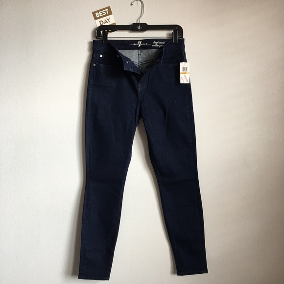 7 For All Mankind Denim - 🆕 {7 For All Mankind} High Waist Ankle Gwenevere